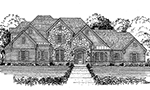 Front elevation plan 4785